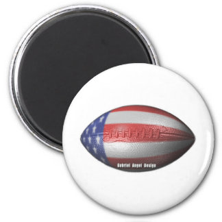 American Football Fridge Magnet