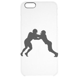 American football player clear iPhone 6 plus case