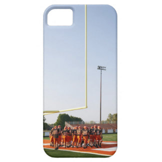 American football players, including teenagers iPhone 5 case