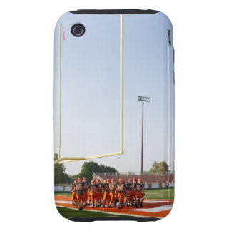 American football players, including teenagers tough iPhone 3 cases