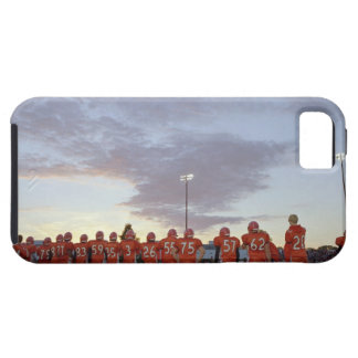 American football players including teenagers iPhone 5 case