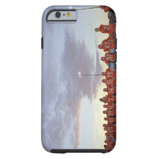 American football players including teenagers tough iPhone 6 case