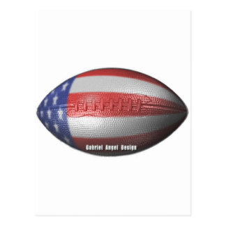 American Football Postcard