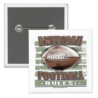 American Football Rules Button