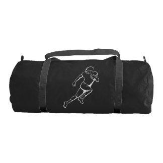 American Football Running Back Gym Bag