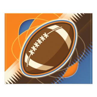 American Football Sport Ball Game 11.5 Cm X 14 Cm Flyer