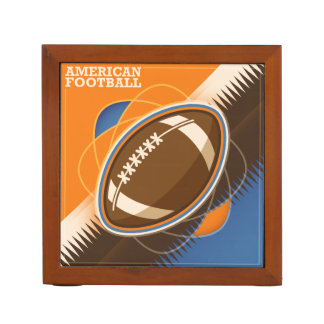 American Football Sport Ball Game Desk Organiser