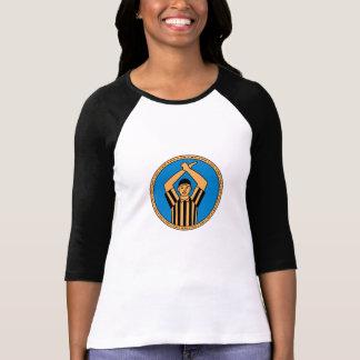 American Football Umpire Hand Signal Circle Mono L T-Shirt