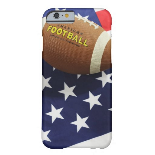 American football with the US flag iPhone 6 Case