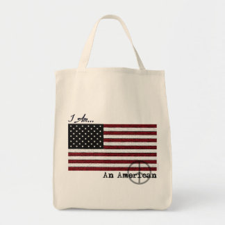 American For Peace Tote Bag