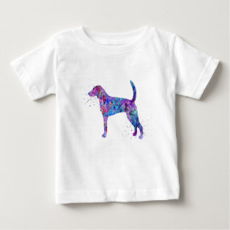 American foxhound, American foxhound watercolor Baby T-Shirt
