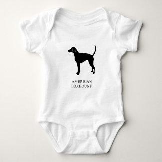 American Foxhound Baby Bodysuit