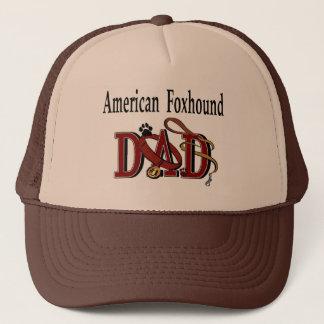 American Foxhound Dad Gifts Trucker Hat