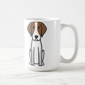 American Foxhound Dog Cartoon Coffee Mug
