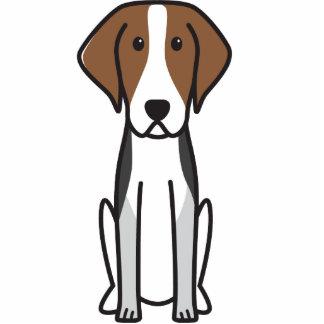American Foxhound Dog Cartoon Photo Cutout