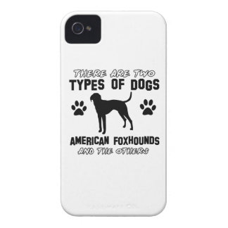 American Foxhound dog designs iPhone 4 Cases