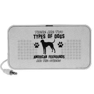 American Foxhound dog designs Speaker