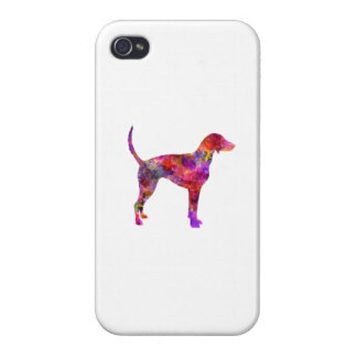 American Foxhound in watercolor 2 iPhone 4 Cover