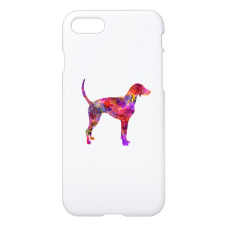 American Foxhound in watercolor 2 iPhone 8/7 Case