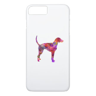 American Foxhound in watercolor 2 iPhone 8 Plus/7 Plus Case