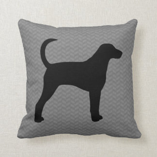 American Foxhound Silhouette Cushion