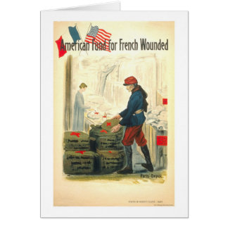 American Fund for French Wounded Card