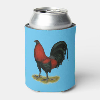American Game BB Black Red Rooster Can Cooler