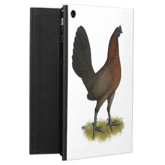 American Game Black Red Hen iPad Air Cover