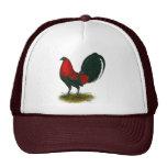 American Gamecock:  Brown Red Cap