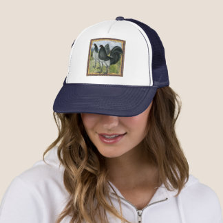 American Games:  Self Blue or Dun Trucker Hat
