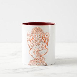 American Ganesh Two-Tone Coffee Mug