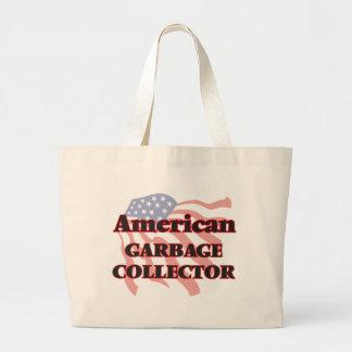 American Garbage Collector Jumbo Tote Bag