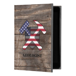 "American Geologist's Rock Hammer and Shield iPad Pro 9.7"" Case"