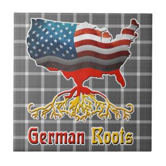 American German Roots Tile