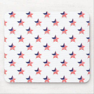 American Glory Star Pattern Mouse Pads