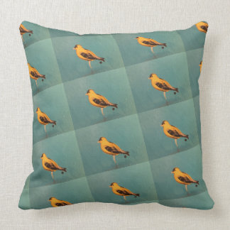 American Goldfinch pillow