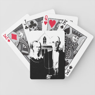 American Gothic Bicycle Playing Cards