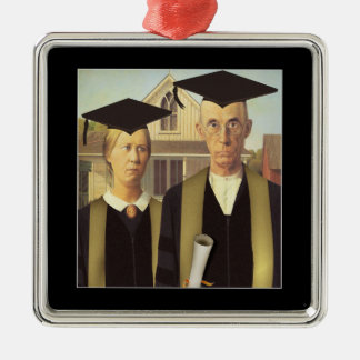 American Gothic Graduation Ornaments
