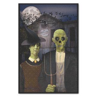 American Gothic Halloween Tissue Paper