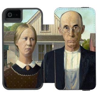 American Gothic Incipio Watson™ iPhone 5 Wallet Case