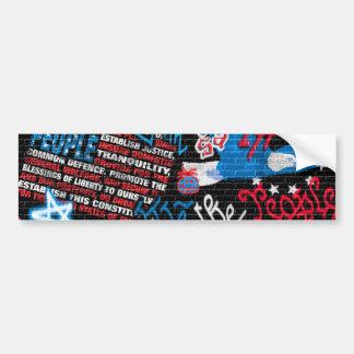 American Graffiti Bumper Sticker