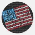 American Graffiti Classic Round Sticker