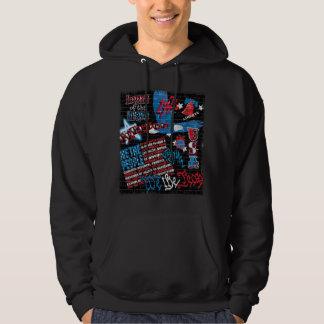 American Graffiti Hooded Pullovers