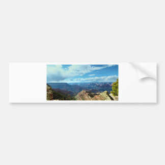 American Grand-canyon mountain ranges landscapes Bumper Sticker