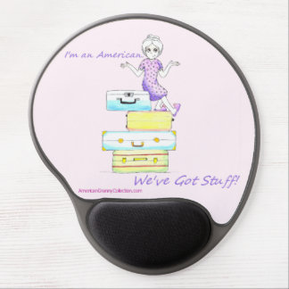 American Granny I'm American Gel Mouse Pad