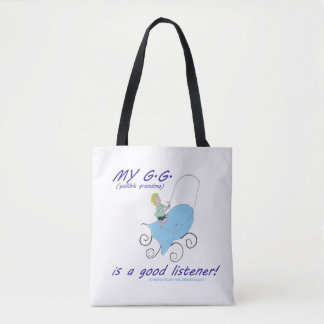 American Granny Tall Tales Tote Bag