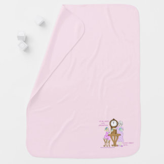 American Granny Up All Night Baby Blanket