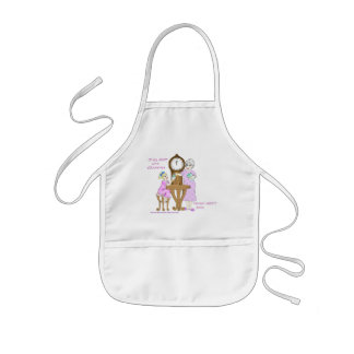 American Granny Up All Night Child's Apron