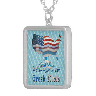 American Greek Roots Necklace