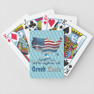 American Greek Roots Playing Cards